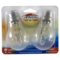 Ampoule halogène économie d'énergie B22 70 Watt