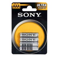 4 Piles 1.5v,LR03, AAA Sony
